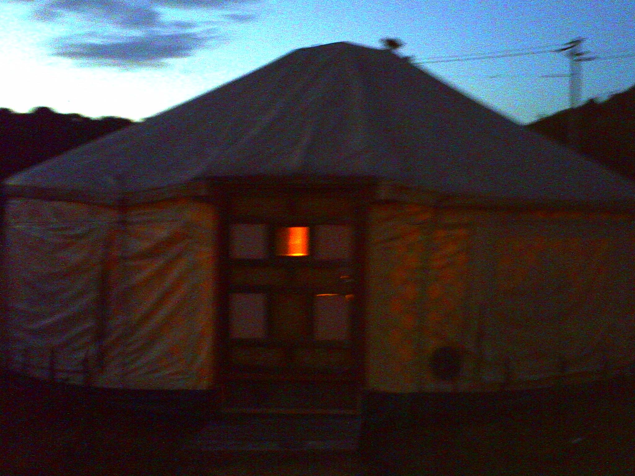 Mongolian yurt Naoshima