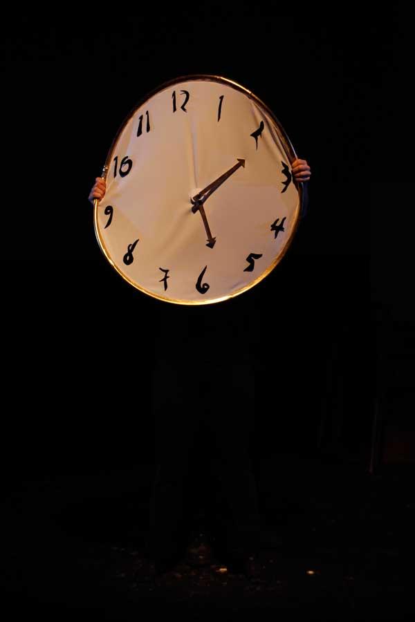 Dali clock time