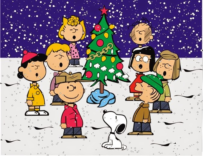 Charlie Brown Christmas Tree Singing